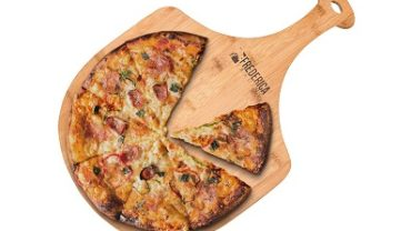 Frederica Trading Premium Bamboo Wooden Pizza Peel