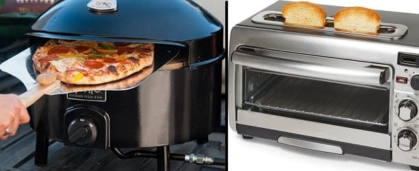 Pizza Oven Vs. Toaster Oven